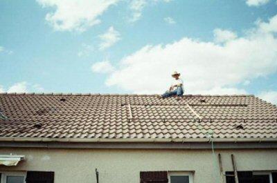 supports solaires sur le toit