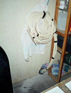 collecteur plancher chauffant coté garage