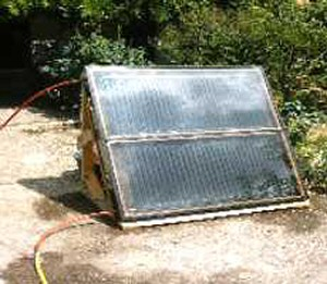 solar panel radiator autoconstruction