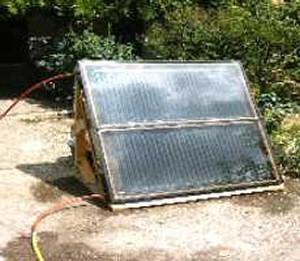 Comment construire un panneau de chauffage solaire a - Fabriquer un chauffe eau piscine bois ...