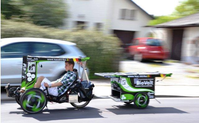 सौर Trike बाइक