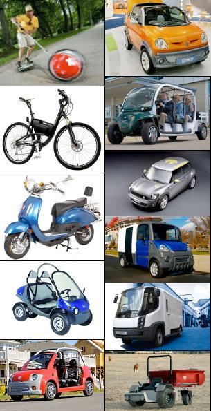 מכונית חשמלית השוואתית