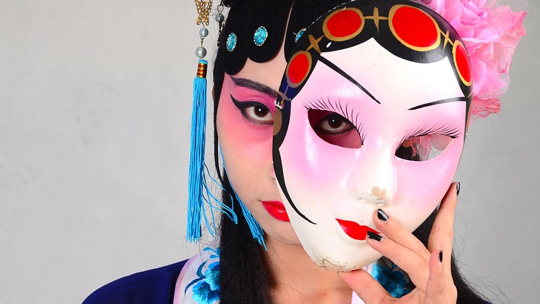 Jatuhkan masker