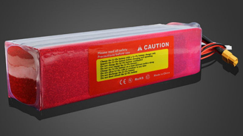 Lipo Lithium batterij