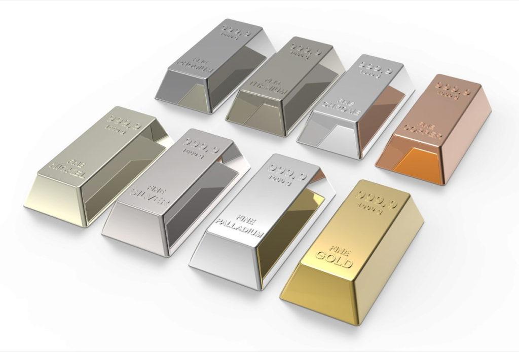 बहुमूल्य धातु ingots