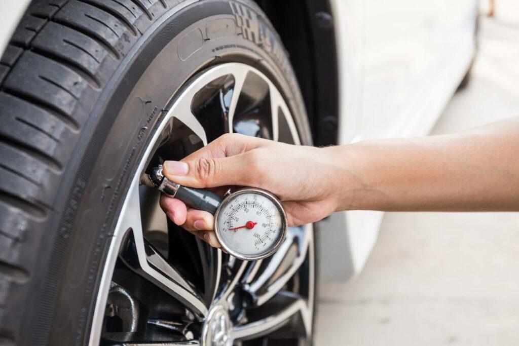 टायर का दबाव