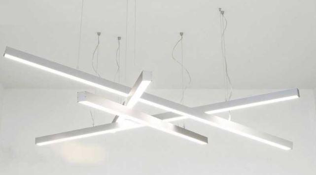 réglettes LED suspendues