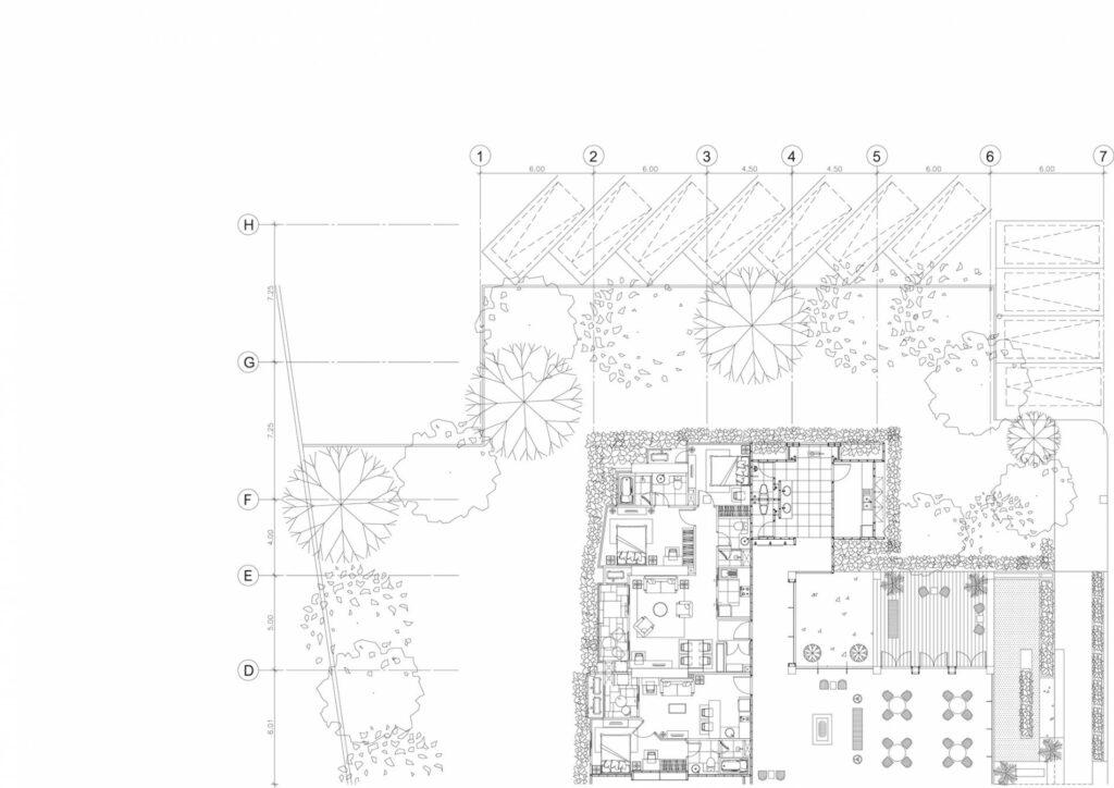 plan de masse intérieur